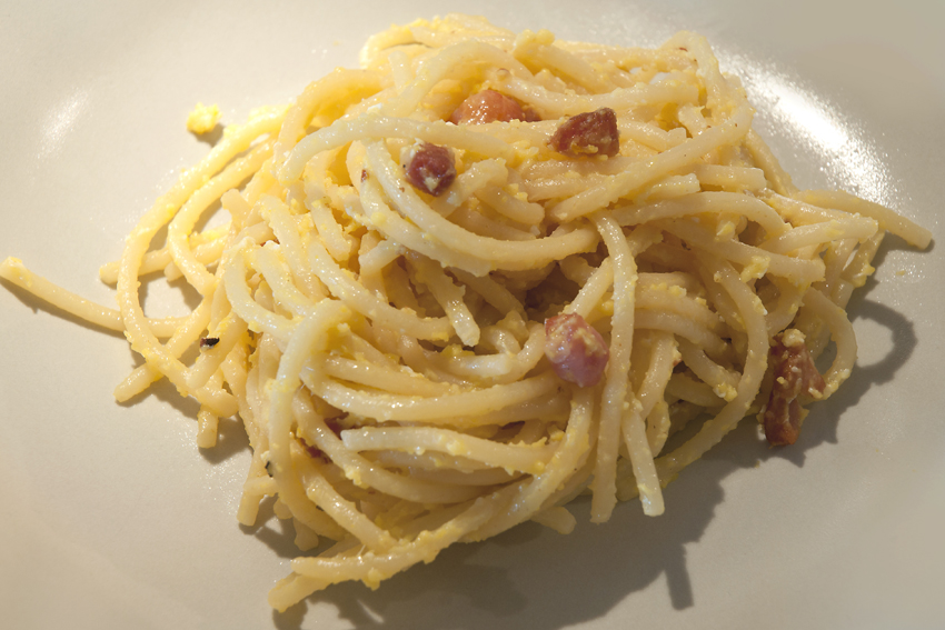 how to make a spaghetti carbonara