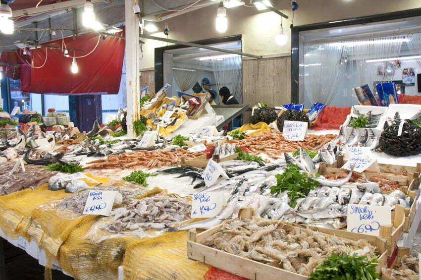targ rybny w Palermo