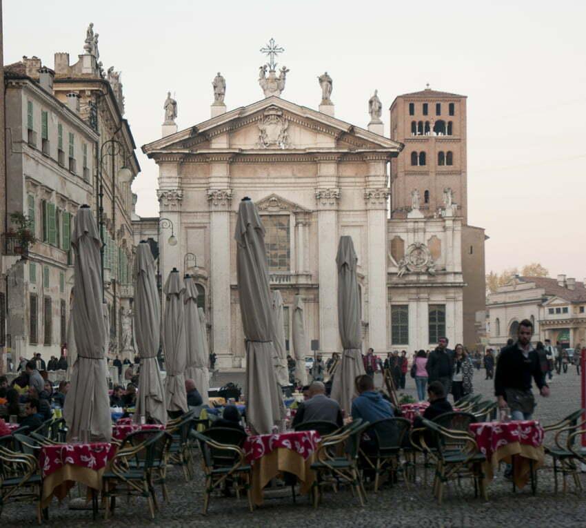 Piazza Sordello - Duomo di Mantova