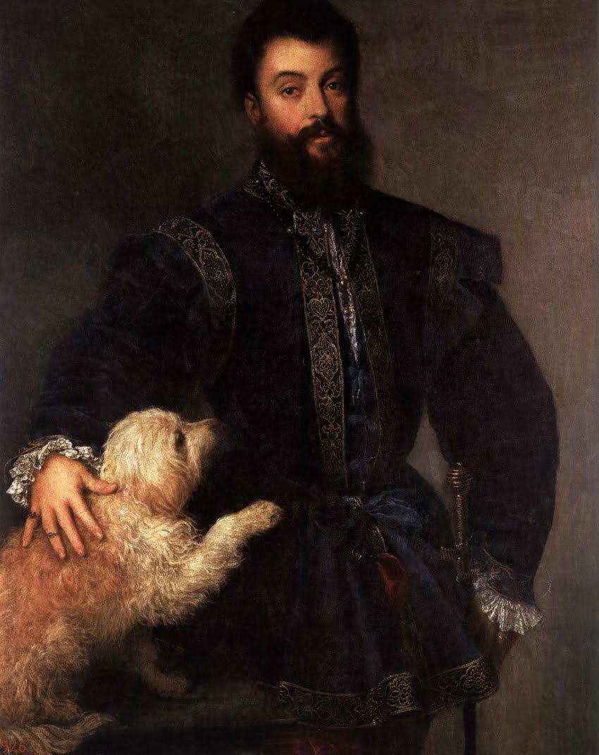 Tizano. Ritratto di Federico II Gonzaga