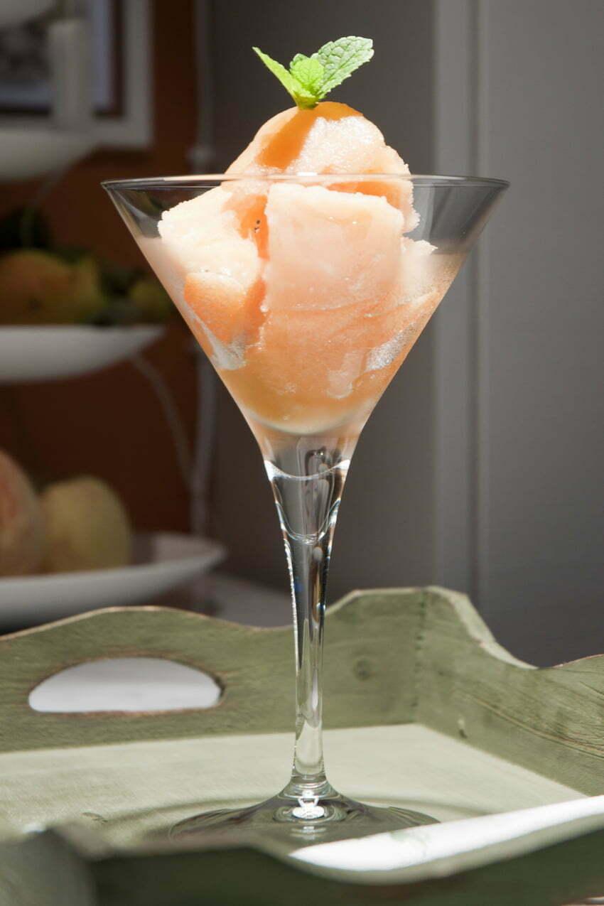 sorbet z melona