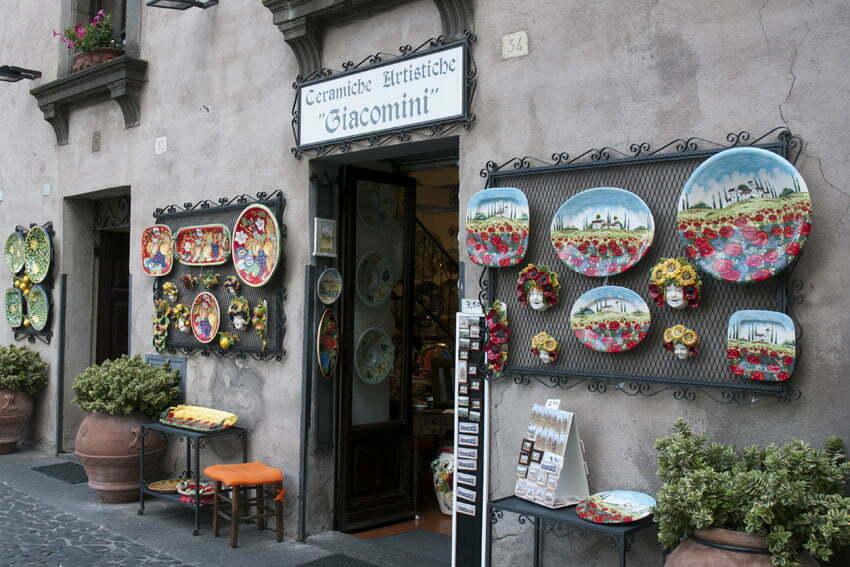 ceramika z Umbrii
