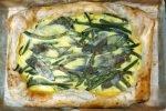 Quiche z fasolką szparagową i szałwią