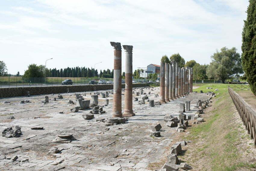 forum romanum w Akwilei