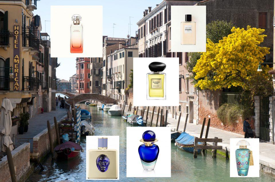 Wenecja zamknięta we flakonie perfum