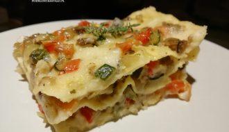 Lasagne z warzywnym ragù